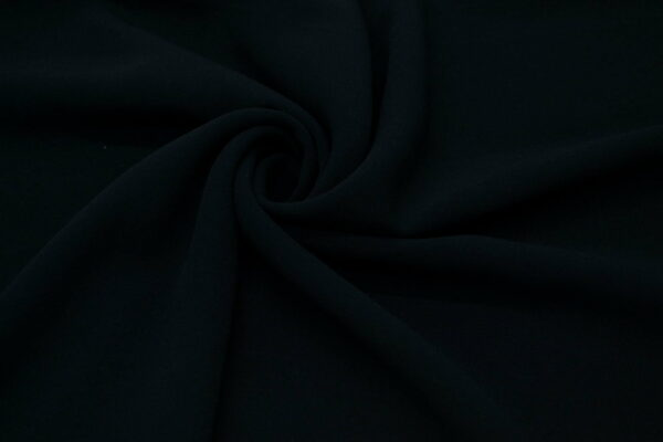 Tkanina Sukienkowa na Kombinezon Spódnice Koszule Czarny