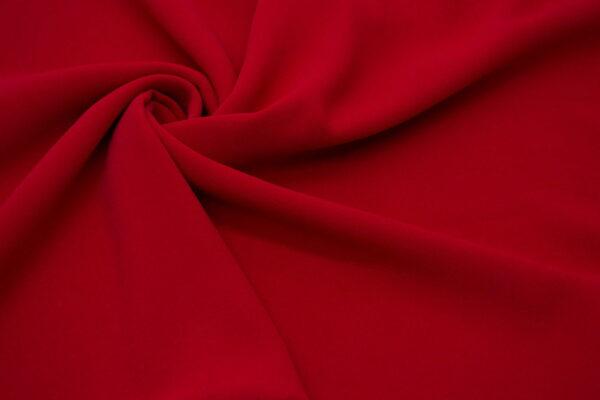 Tkanina Sukienkowa na Kombinezon Spódnice Koszule Czerwony