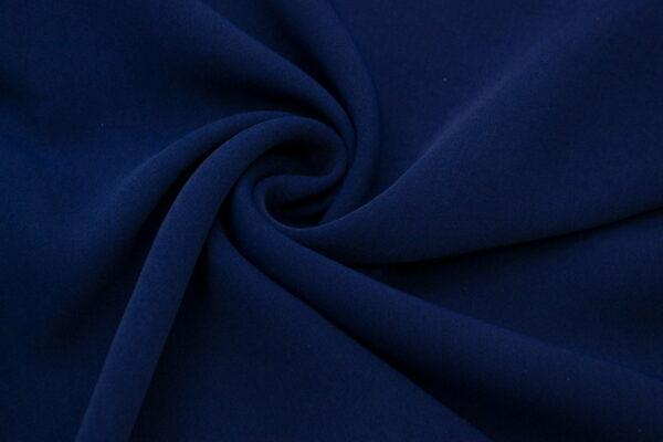 Tkanina Sukienkowa na Kombinezon Spódnice Koszule Granatowy