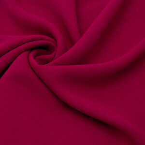 Tkanina Sukienkowa na Kombinezon Spódnice Koszule Malinowy