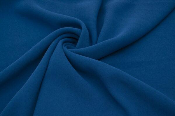Tkanina Sukienkowa na Kombinezon Spódnice Koszule Szafirowy