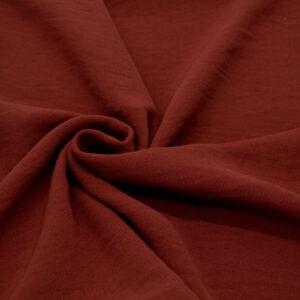 Tkanina Sukienkowa Bluzkowa Ciemny Rudy