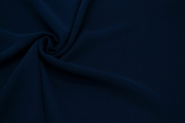 Tkanina Bluzkowa Sukienkowa Ciemny Granat
