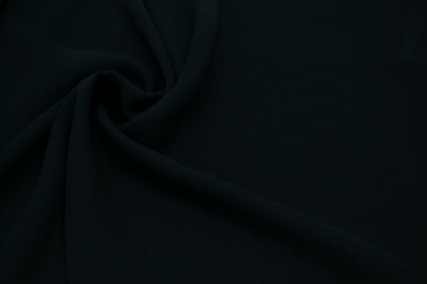 Tkanina Bluzkowa Sukienkowa Czarny