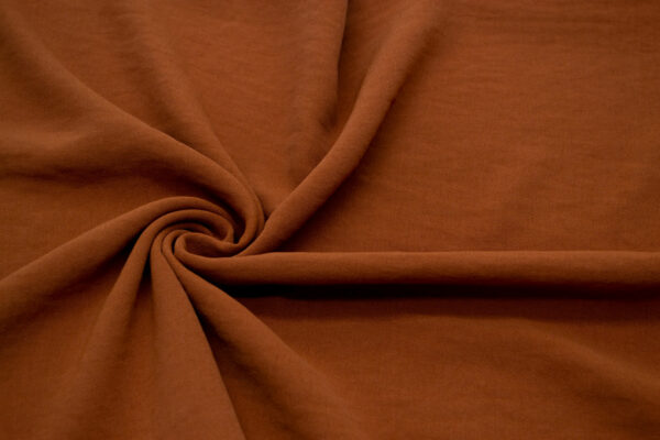 Tkanina Sukienkowa Bluzkowa Rudy