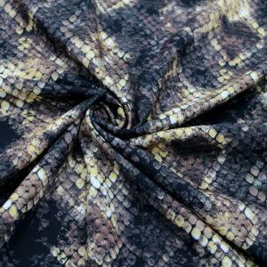 Ткань Принт Змея