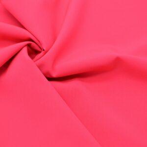 Tkanina Sukienkowa Bluzkowa Koszulowa Neonowy Koral
