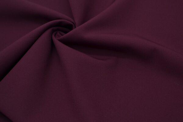 Tkanina Sukienkowa Garniturowa na Spódnice Ciemne Bordo