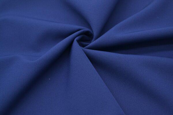 Tkanina Sukienkowa Garniturowa na Spódnice Granatowy