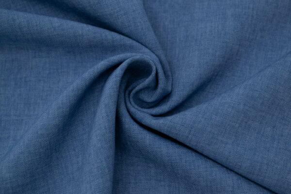 Tkanina Sukienkowa na Spódnice Szorty Spodnie Żakiet Ciemny Jeans