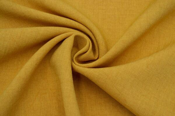 Tkanina Sukienkowa na Spódnice Szorty Spodnie Żakiet Musztarda