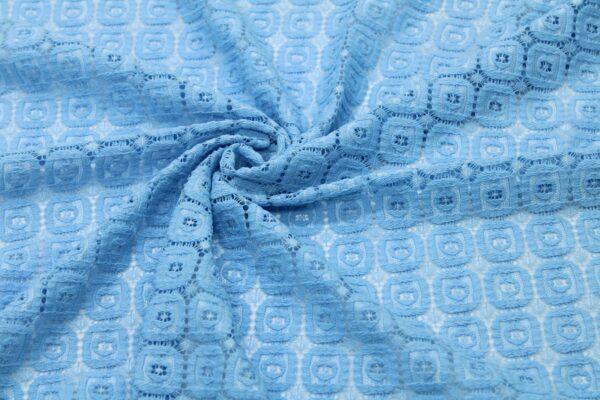 Кружево Голубое