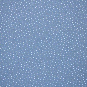 Printed Fabric White Polka Dots Jeans Background