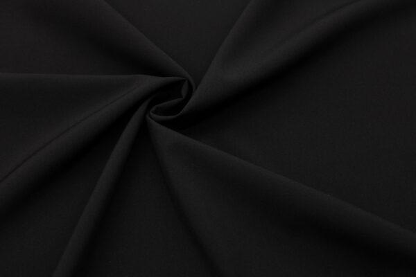 Tkanina Sukienkowa Bluzkowa Koszulowa Czarny