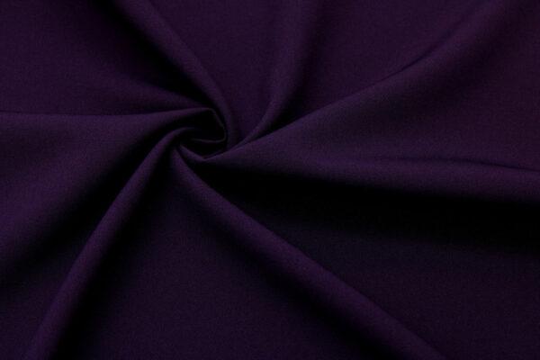 Tkanina Sukienkowa Garniturowa na Spódnice Bakłażanowy