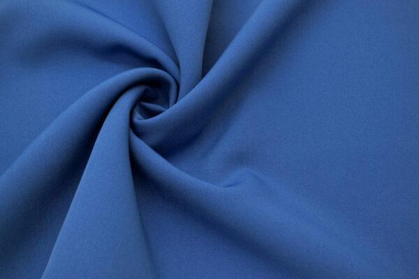 Tkanina Sukienkowa Garniturowa na Spódnice Ciemny Jeans