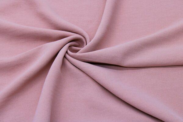 Tkanina Sukienkowa Bluzkowa Brudny Róż