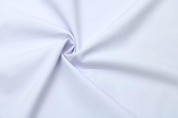 Tkanina Sukienkowa Bluzkowa Koszulowa Biały