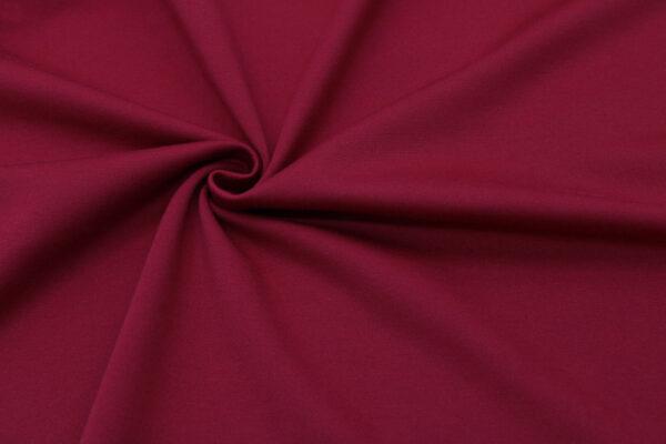 Dzianina Sukienkowa Na Spódnice Głęboka Czerwień