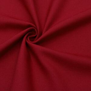 Tkanina Sukienkowa Bluzkowa Ciemny Czerwony