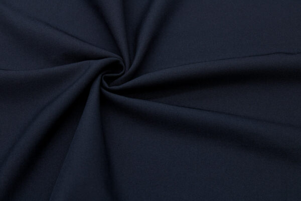 Tkanina Sukienkowa Bluzkowa Granatowy