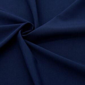 Tkanina Sukienkowa Bluzkowa Koszulowa Granatowy