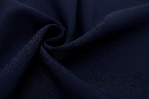 Tkanina Sukienkowa Garniturowa na Spódnice Ciemny Granatowy