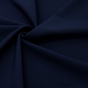 Tkanina Sukienkowa Bluzkowa Koszulowa Ciemny Granatowy