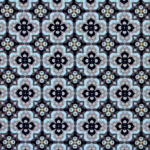 Printed Fabric Geometric Pattern